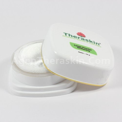 loose powder whitening theraskin