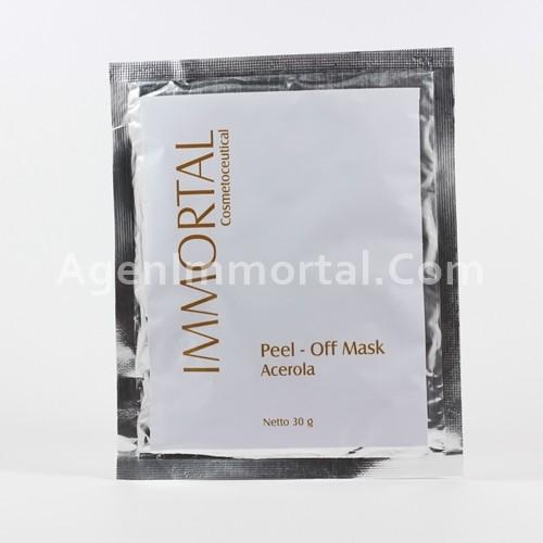 masker peel off acerola immortal