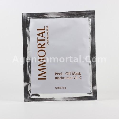 masker peel off blackcurant vit c