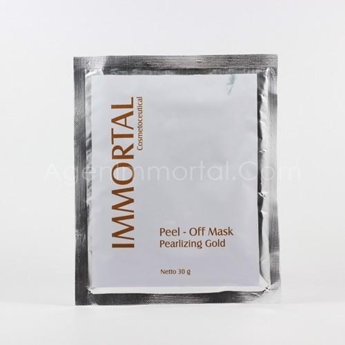 masker peel off pearlizing gold immortal