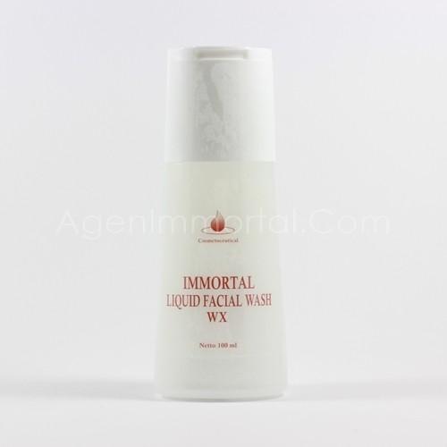 Immortal Liquid Facial Wash Whitening Series (WX)