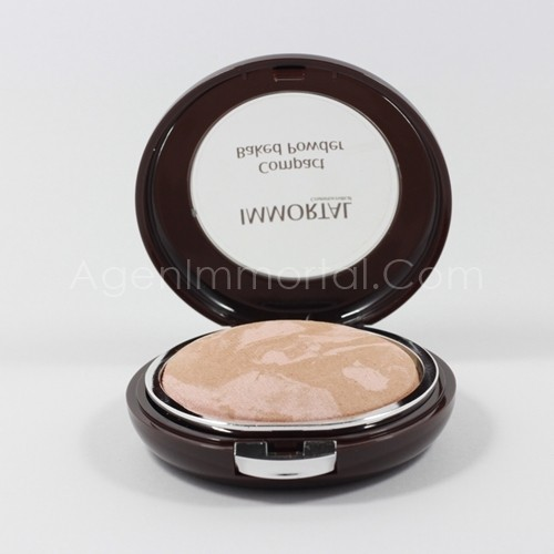 compact baked powder chrystal natural immortal