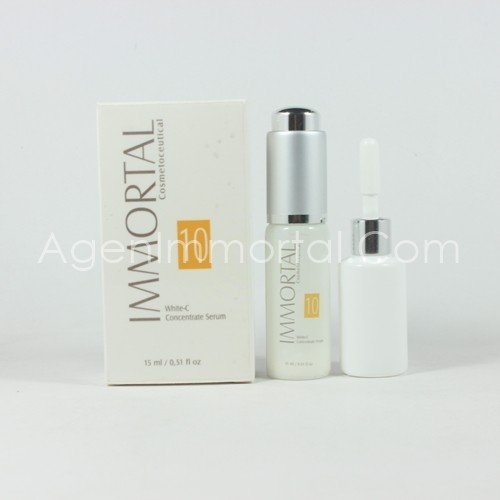 white c concentrate serum immortal