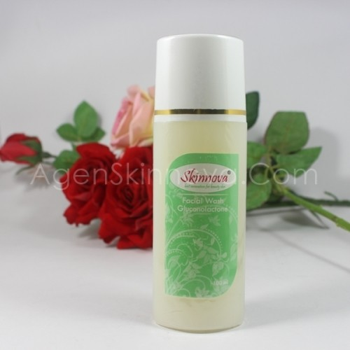 facial wash gluconolactone skinnova