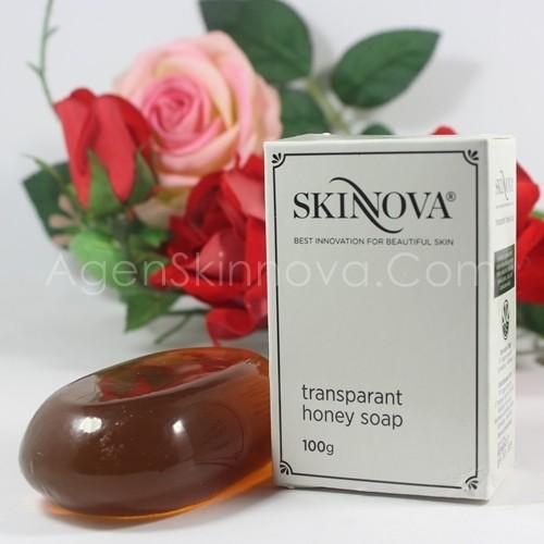 sabun madu transparan honey soap skinnova