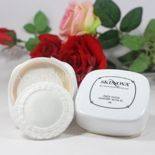 loose acne powder kl skinnova