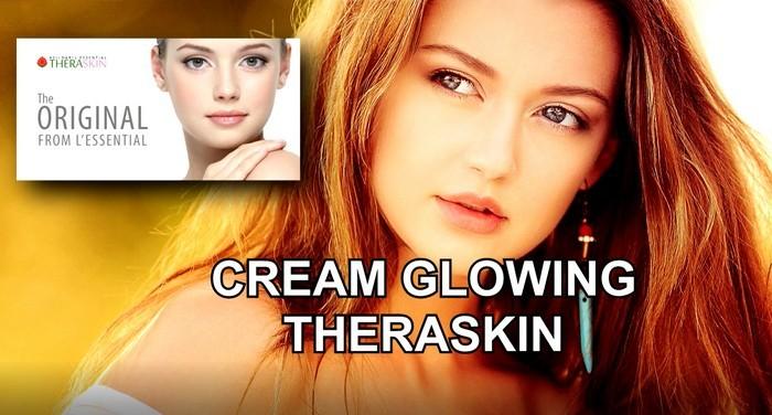 cream glowing theraskin