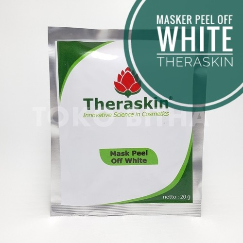 masker peel off white theraskin