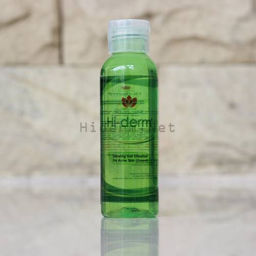gel cleanser green